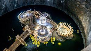 Salina Turda amusement park