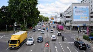 Stuttgart road