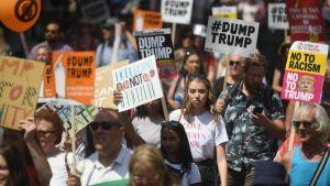 Trump UK protest