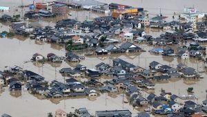West Japan flood