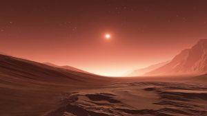Cloudy Mars
