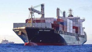 container feeder Kea Trader