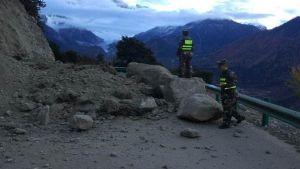 earthquake hits Tibet
