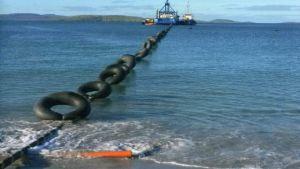 Shetland subsea energy link