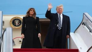 Trump begins state visit to China