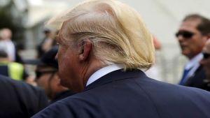 Trump leaving