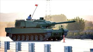 Turkish battle tank