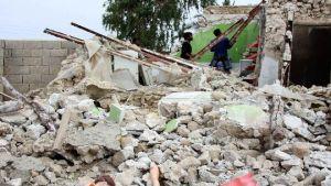earthquake near Iran