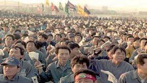 Hyundai workers