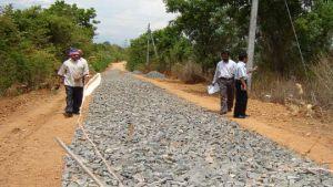 Sri Lanka rural road