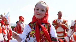 Russia happy