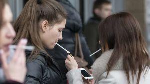 Russia smoking