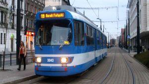 Tramways in Krakow