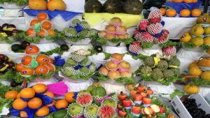 Brazil street market
