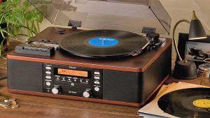 Vintage-looking audio gadgets