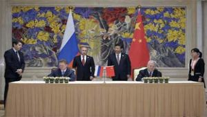 China Russia gas deal