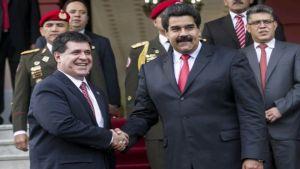 Nicolas Maduro Horacio Cartes