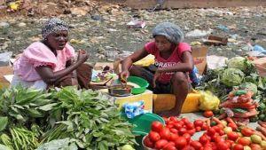 Africa street market