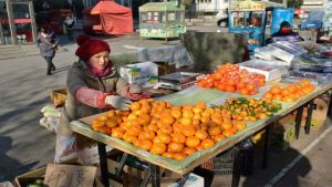 China street market