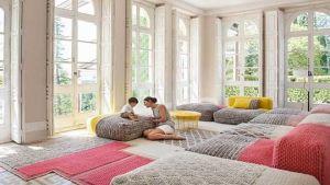 Natural materials furniture