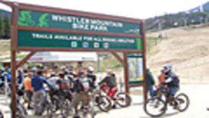 mountain bike whistler canada