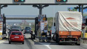 Bulgaria toll road