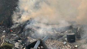 Delhi factory fire