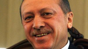 Erdogan happy
