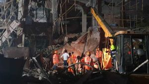 Explosion in a factory in Tarapur Industrial Area