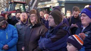 Farmers protest in Dublin