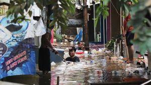 Flood in Jakarta