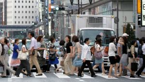 Japan street people