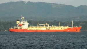 LPG tanker DL LILY