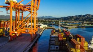 Mexican Port of Manzanillo