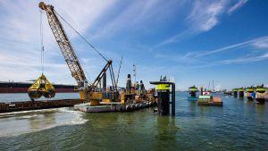 Netherlands port Rotterdam