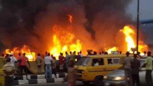 Nigerian National Petroleum Corporation pipeline in Lagos