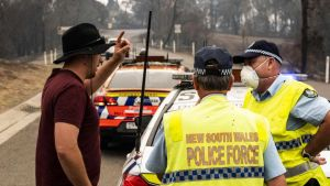 New South Wales fire