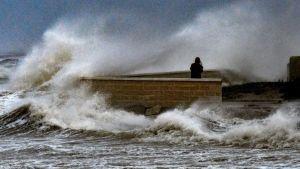 Spain storm