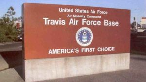 Travis Air Force Base in Solano County