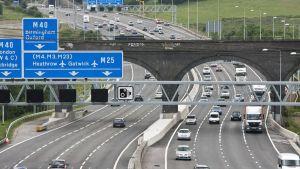 UK motorway M25