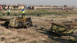 Ukrainian plane damages