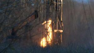 Chesapeake Energy fire