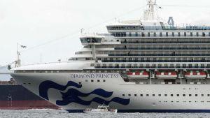 Cruise ship off Japan