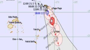 Cyclone Wasi Samoa