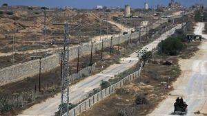 Egypt Gaza wall