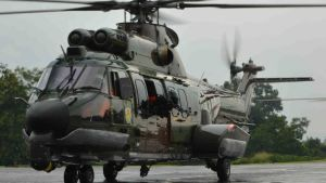 Indonesia army helicopter