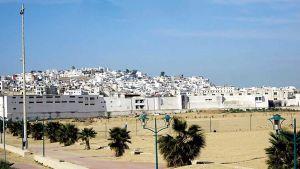 Mghougha neighborhood of Tangier