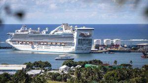 Samoa cruise ship