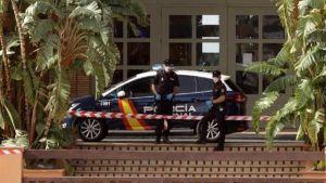 Spanish policia