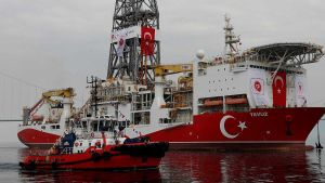 Turkish drilling ship